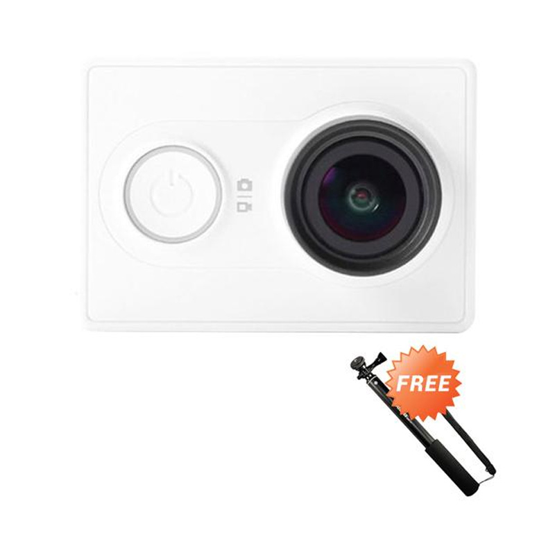 Jual Xiaomi Yi Basic Action Camera - White + Free Tongsis ...