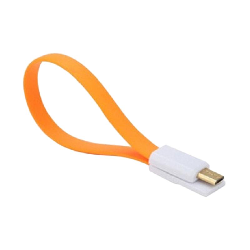 harga Xiaomimi Magnetic Micro USB to USB Cable for Smartphone - Orange Blibli.com