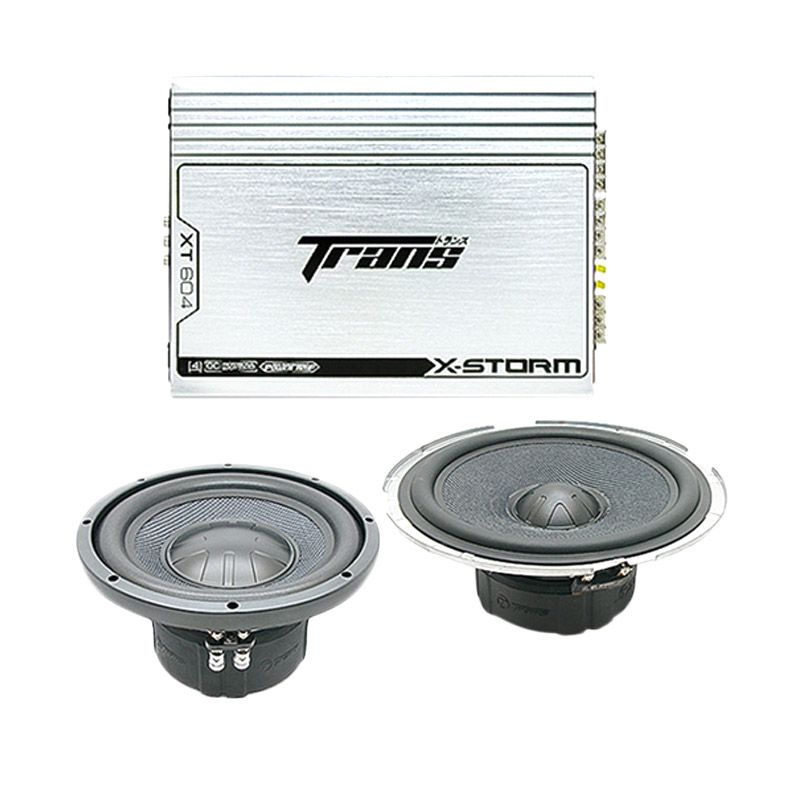 PROMO Paket Audio Murah Trans X-Strom set speaker Mobil [3 pcs]