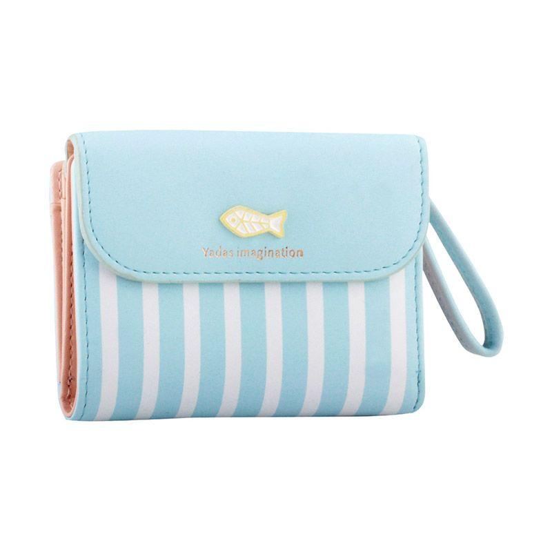 Yadas Korea Fashion 927-3 L.Blue Wallet