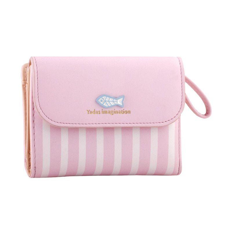 Yadas Korea Fashion 927-3 Pink Wallet