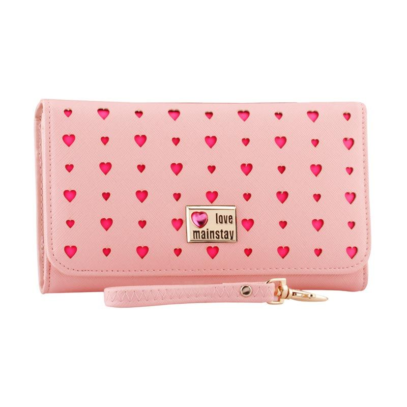 Yadas Korea Fashion 928-4 Pink Wallet