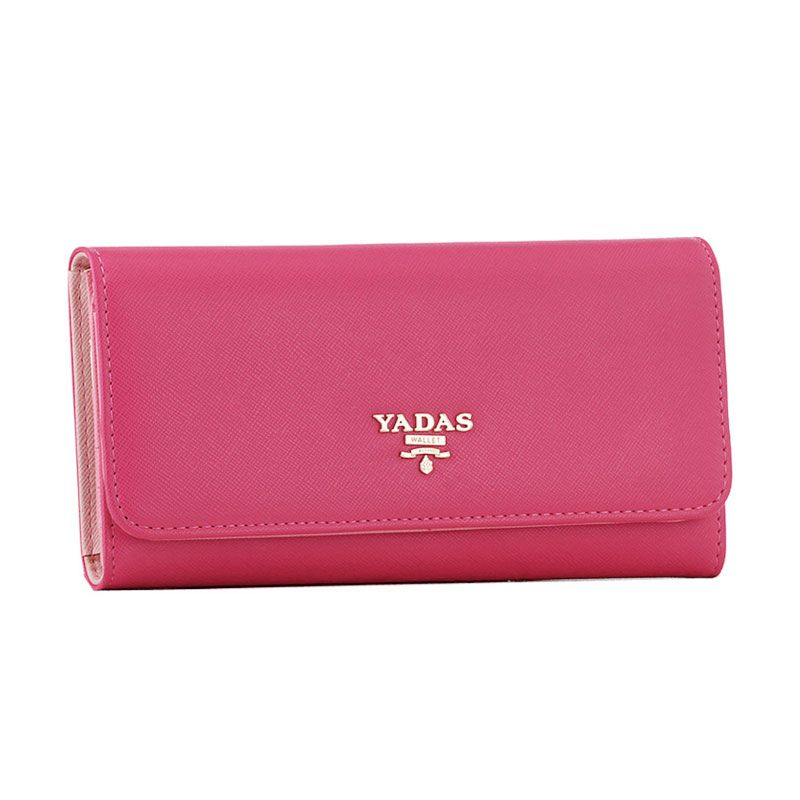 Yadas Korea Wallet 6802-2 Fashion Wallet - Fuchsia