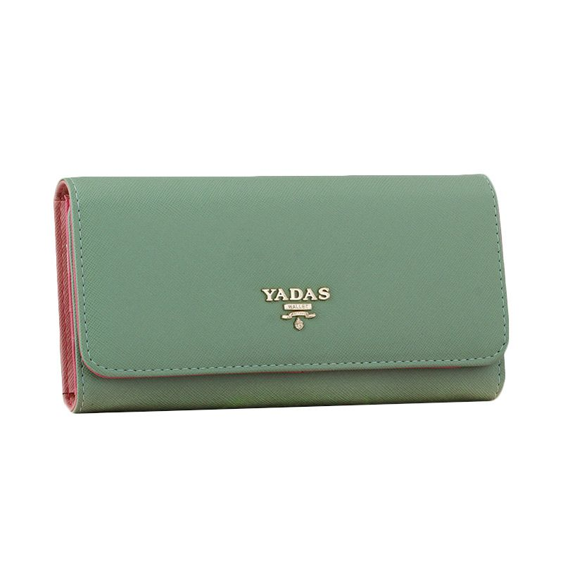 Yadas Korea Fashion 6802-2 Hijau Wallet