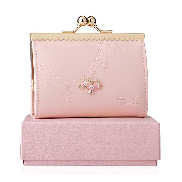 Yadas Korea 913-6 Fashion Pink Dompet Wanita