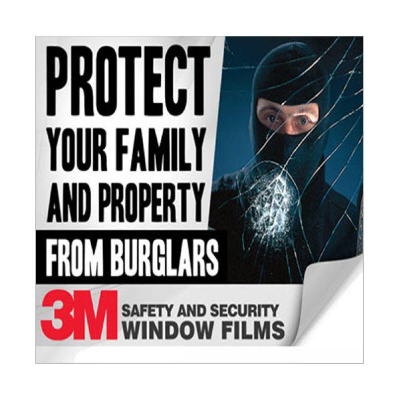 3M Pasang Kaca Film Mobil Safety & Security 4 Mil SAS Series Full Windows [Darkness 40,60,80%]