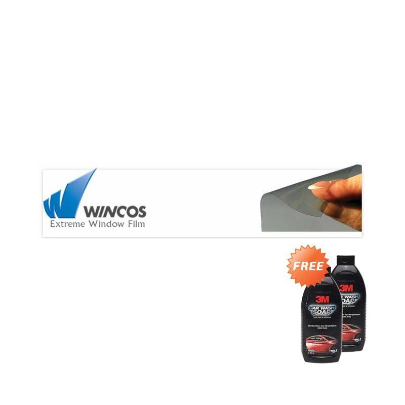 Wincos Full Body Kaca Film [Jabodetabek/Pasang Kaca Film] + 3M Car Wash Shampoo [2 pc]