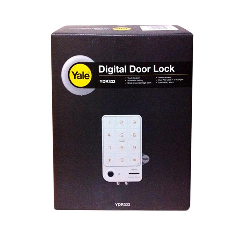 harga YALE Kunci Pintu Digital YDR 333 Blibli.com