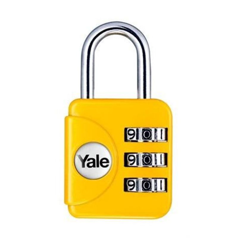 Travel Lock Yale YP1/28/121/1Y Kuning