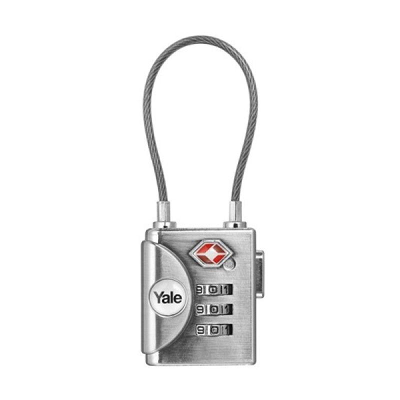Travel Lock Yale YTP3/32/350/1 Silver