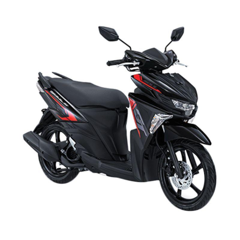 Yamaha All New Soul GT 125 Bravery Black Sepeda Motor [OTR Yogyakarta]