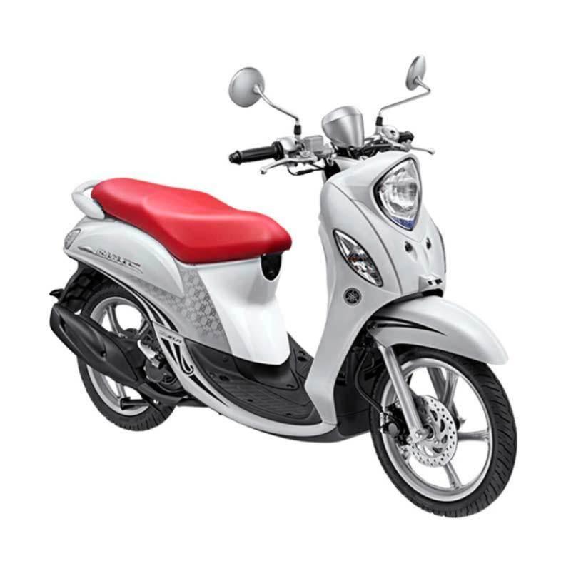 Yamaha Fino Premium FI Fashion White Sepeda Motor [OTR Jawa Tengah]