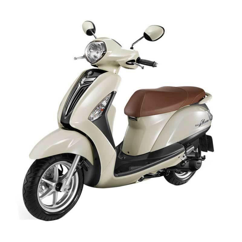 Yamaha Grand Filano New White Sepeda Motor [OTR Jawa Tengah]