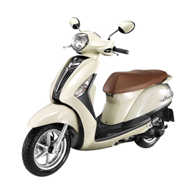 Yamaha Grand Filano New White Sepeda Motor [OTR Yogyakarta]