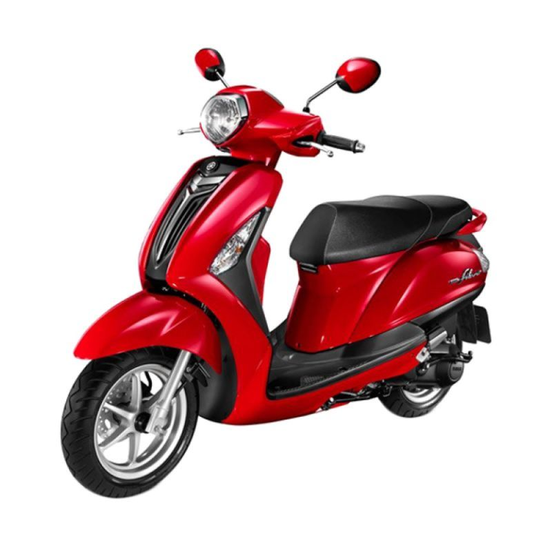 Yamaha Grand Filano Vivid Red Metallic Sepeda Motor [OTR Yogyakarta]