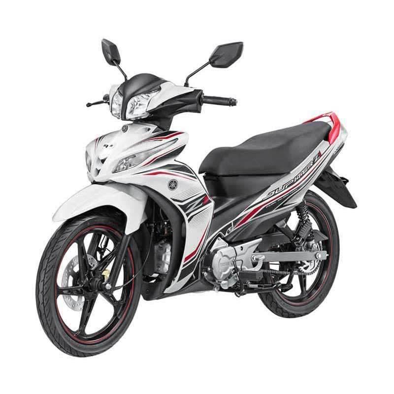 Yamaha Jupiter Z1 CW FI Sporty White Sepeda Motor [OTR Yogyakarta]