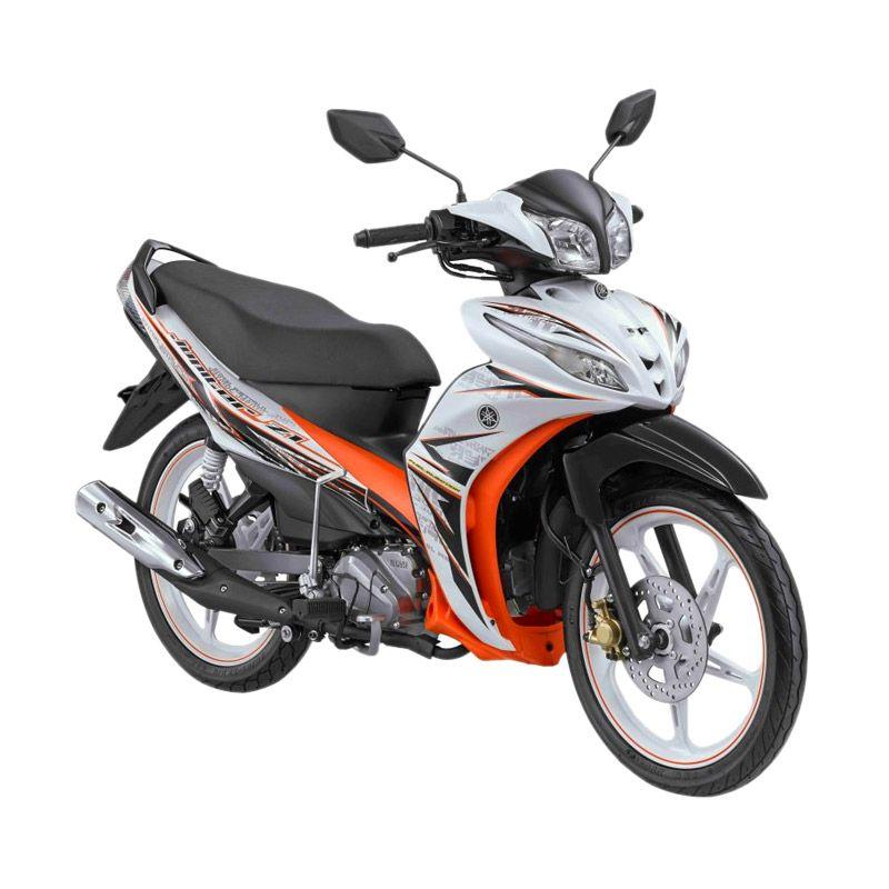 Yamaha Jupiter Z1 CW FI Street White Sepeda Motor [OTR Jawa Tengah]