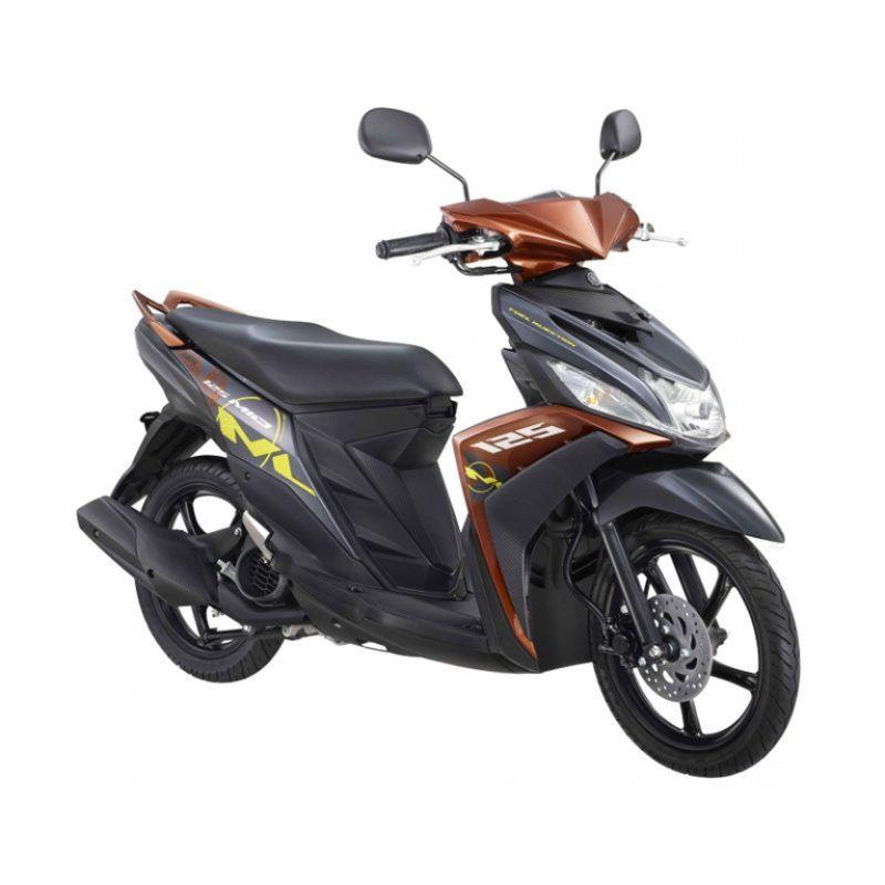 Yamaha Mio M3 125 CW Hashtag Brown Sepeda Motor [OTR Jawa Tengah]