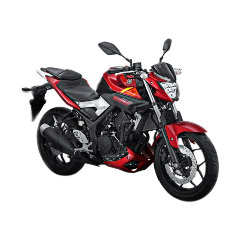 Yamaha MT 25 Red Rage Sepeda Motor [OTR Yogyakarta]