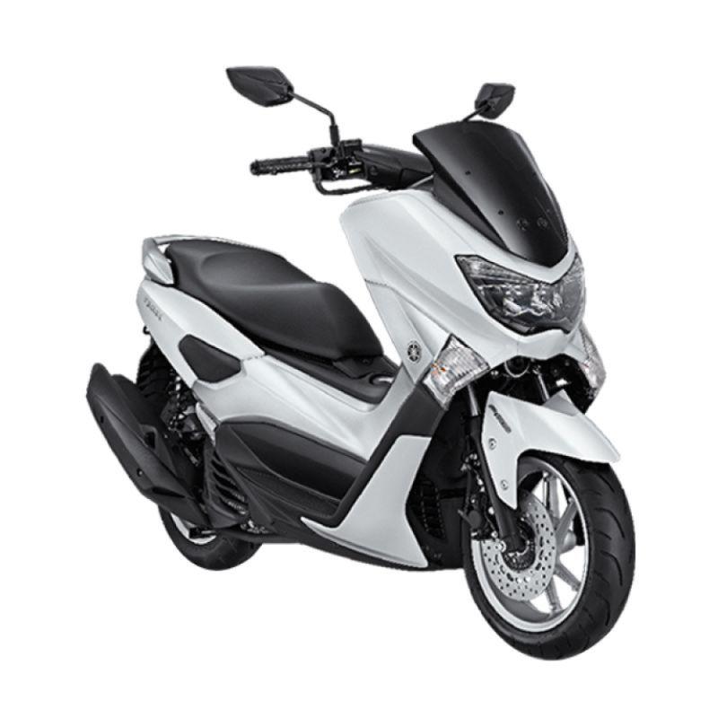 Yamaha NMAX ABS Premier White Sepeda Motor [OTR Jawa Tengah]