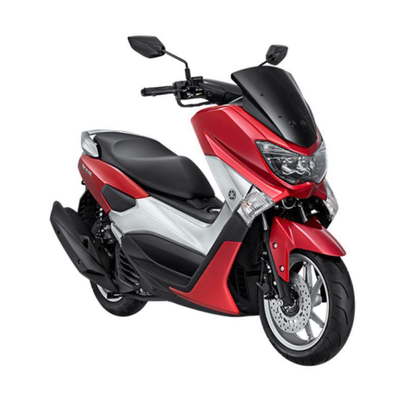 Yamaha NMAX Non ABS Climax Red Sepeda Motor [OTR Yogyakarta]