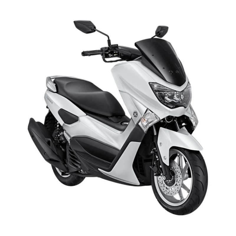 Yamaha NMAX Non ABS Premier White Sepeda Motor [OTR Jawa Tengah]