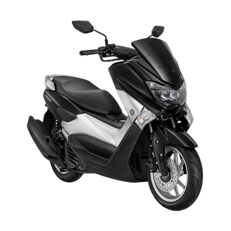 Yamaha NMAX Non ABS Zenith Black Sepeda Motor [OTR Jawa Tengah]