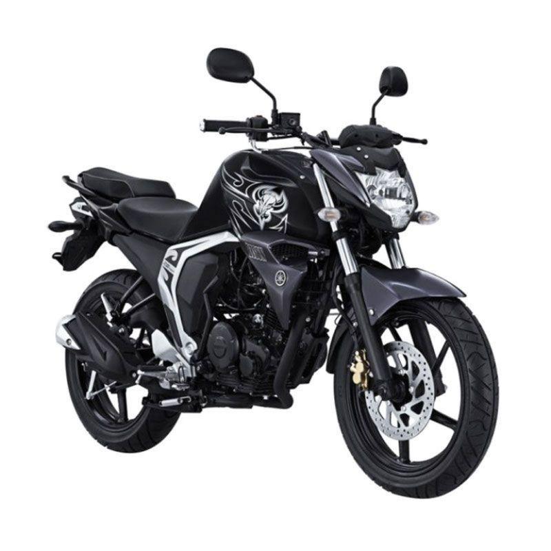 Yamaha Byson Black Fighter Sepeda Motor + Voucher Shell [Rp 260.000]