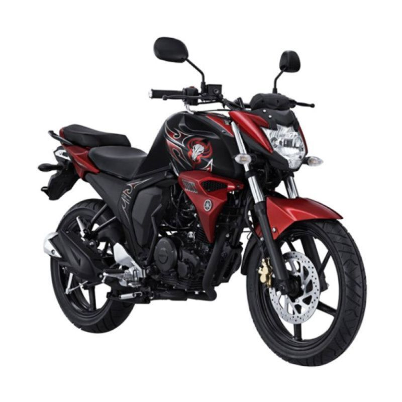 Yamaha Byson Red Combat Sepeda Motor + Voucher Shell [Rp 260.000]