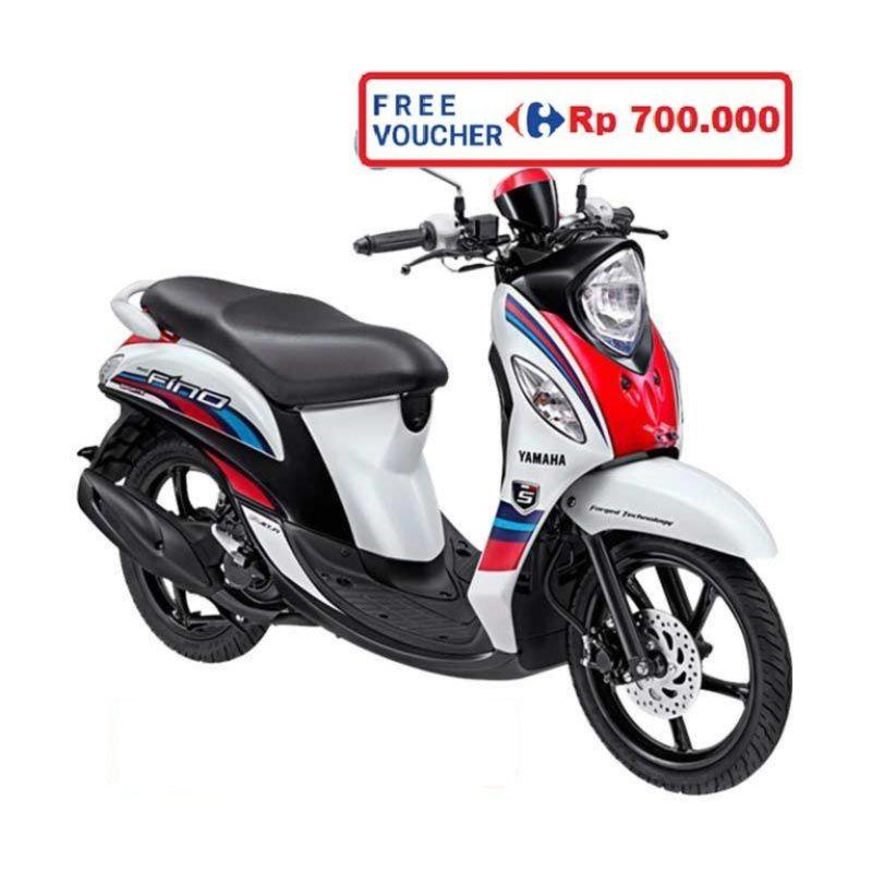Yamaha Fino Sporty FI Neo White Sepeda Motor (Bekasi, Depok) (Neo White)