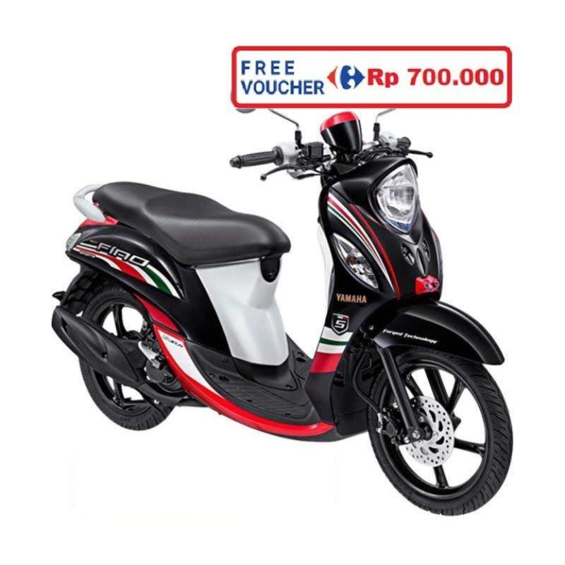 Yamaha Fino Sporty FI Urban Black Sepeda Motor (Bekasi, Depok) (Urban Black)