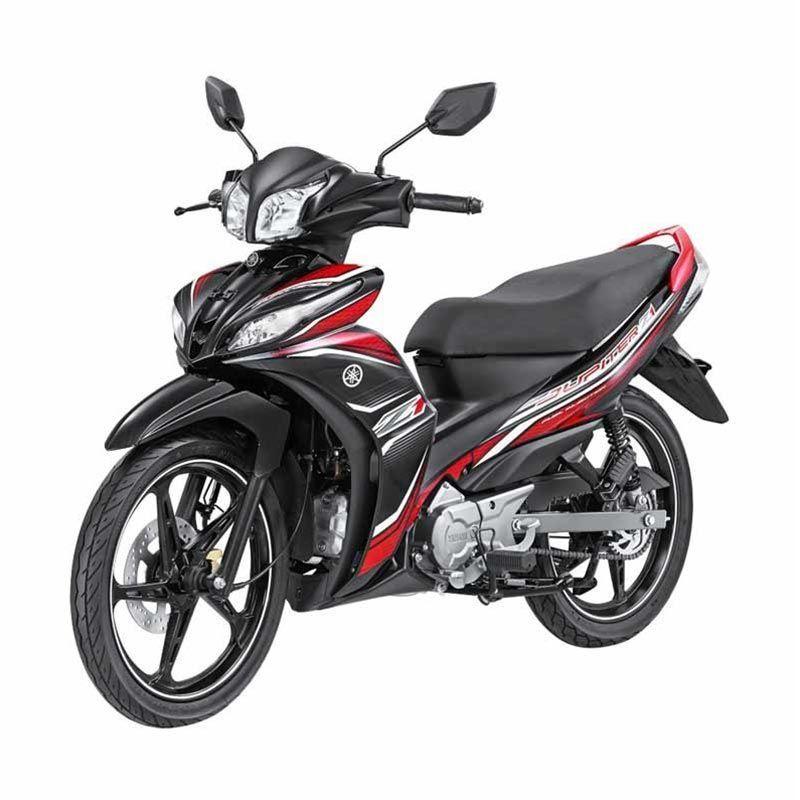 Yamaha Jupiter Z1 CW FI Sporty Black Sepeda Motor