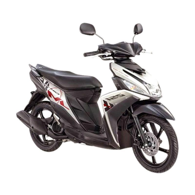 Yamaha Mio M3 125 CW Chat White Sepeda Motor + Voucher Shell [Rp 140.000]