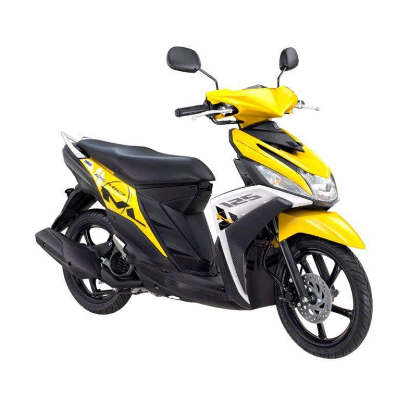 Yamaha Mio M3 125 CW Trending Yellow Sepeda Motor