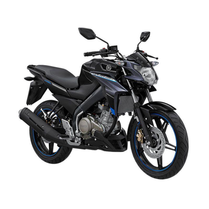 Yamaha New Vixion Advance Striking Black Sepeda Motor