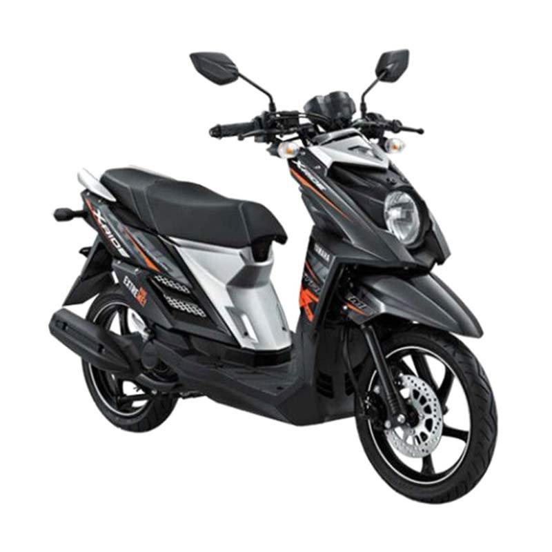 Yamaha X-Ride Drifting Black Sepeda Motor + Voucher Shell [Rp 140.000]
