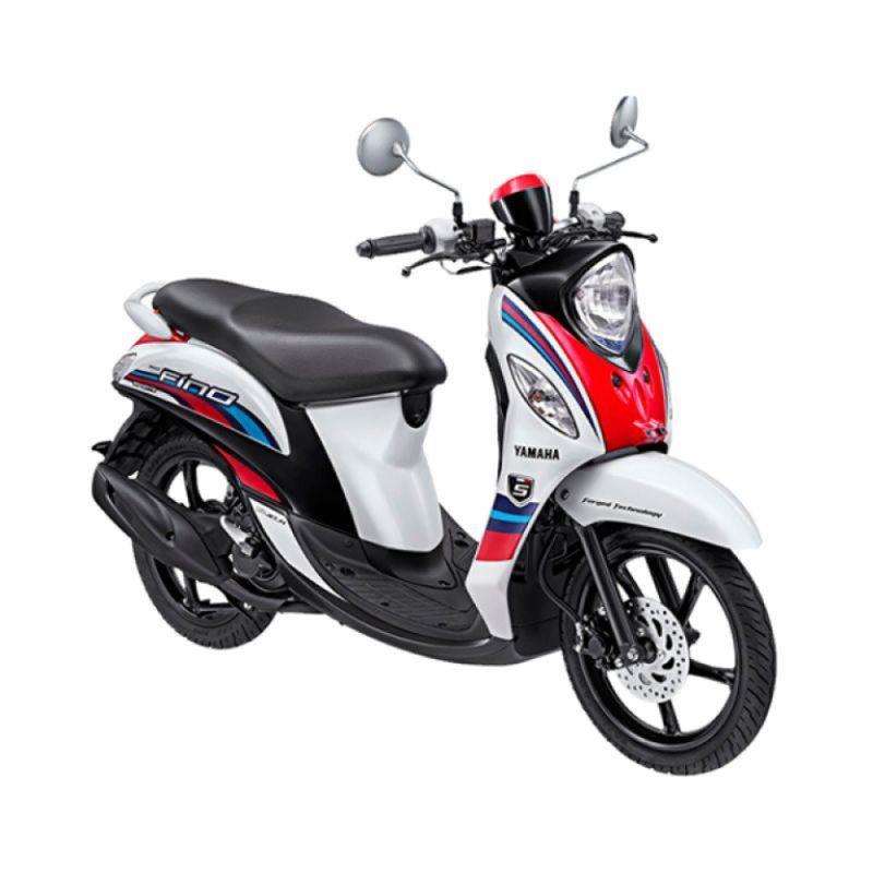 Yamaha Fino Sporty FI Neo White Sepeda Motor [OTR Lampung]