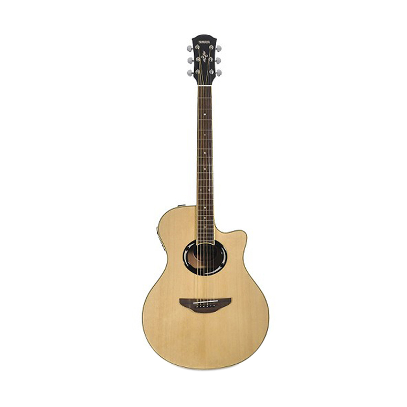 harga Yamaha Gitar Akustik Elektrik APX 500II - Natural Blibli.com