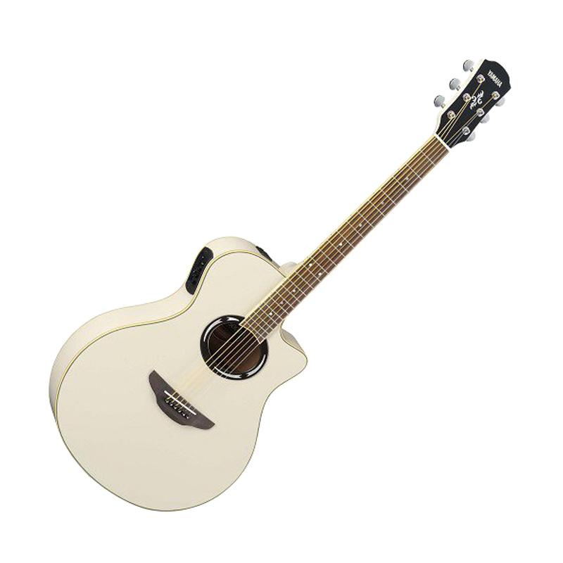 harga Yamaha APX 500II Gitar Akustik Elektrik - Vintage White Blibli.com