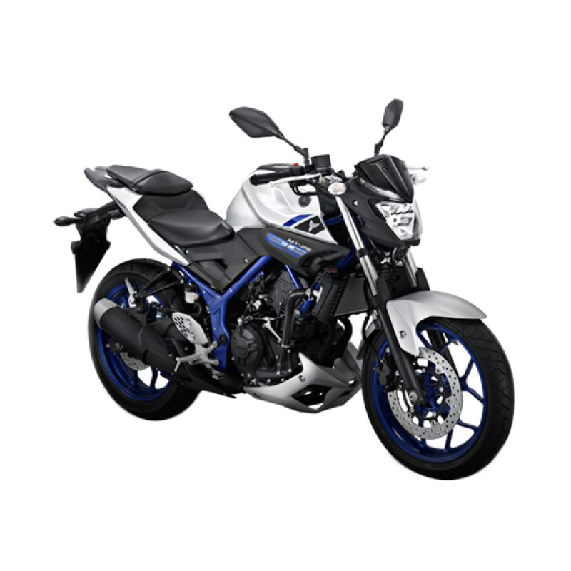 Jual Yamaha Mt 25 Sepeda Motor Silver Blue Otr Yogyakarta Online Harga Amp Kualitas Terjamin