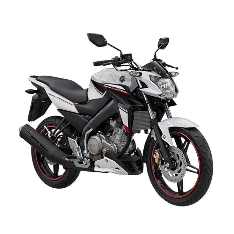 Yamaha New Vixion Advance Luminous White Sepeda Motor [OTR Lampung]