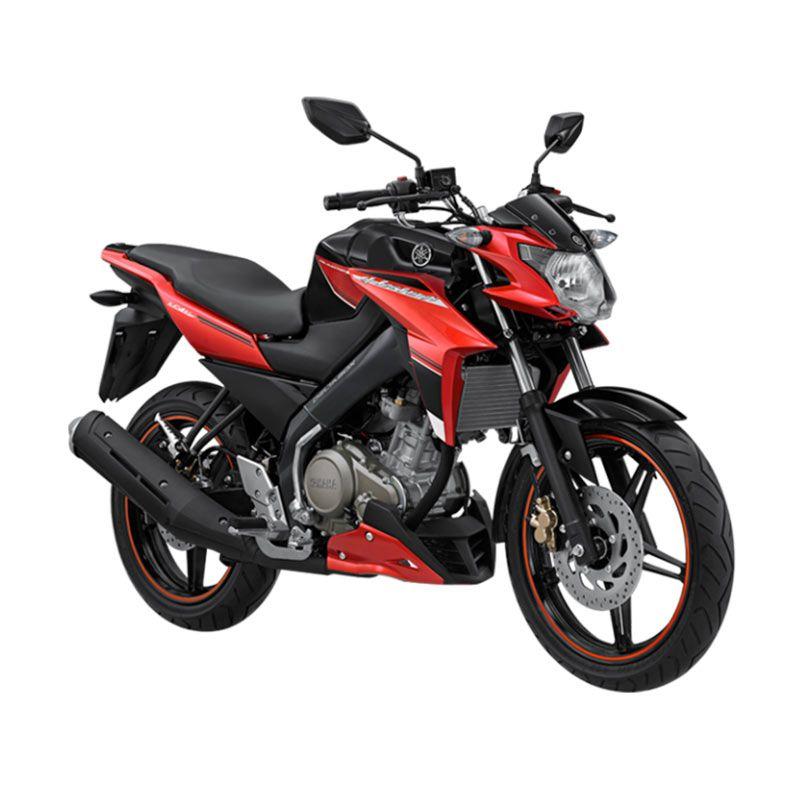 Yamaha New Vixion Advance Striking Black Red Sepeda Motor [OTR Yogyakarta]