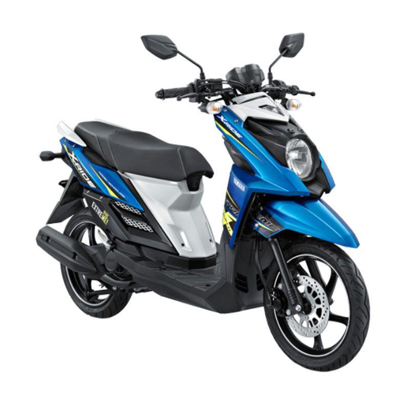 Yamaha X-Ride Crosser Blue Sepeda Motor [OTR Lampung]