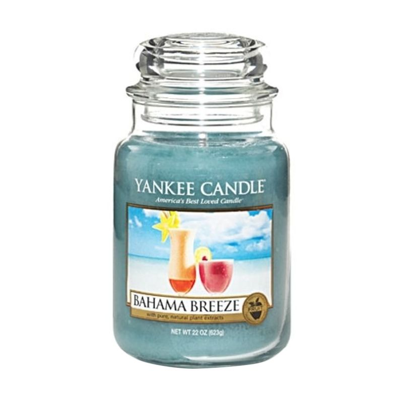 Yankee Candle Jar Large Bahama Breeze Lilin Aromaterapi