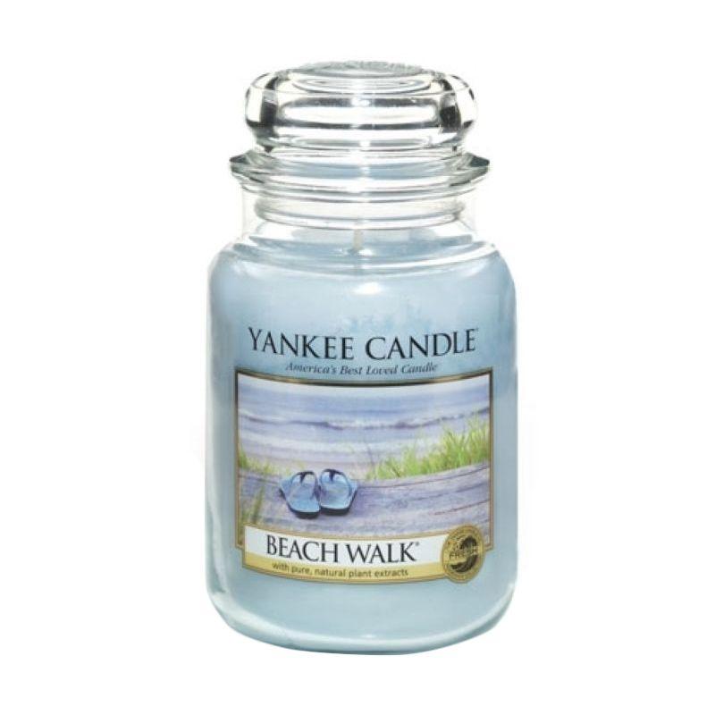 Yankee Candle Jar Large Beach Walk Lilin Aromaterapi