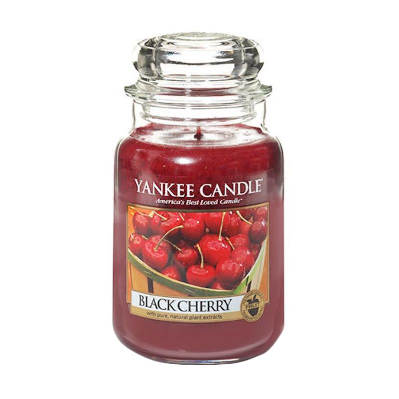 Yankee Candle Jar Large Black Cherry Lilin Aromaterapi