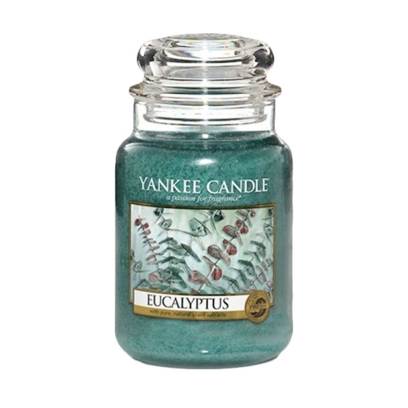 Yankee Candle Jar Large Eucalyptus Lilin Aromaterapi