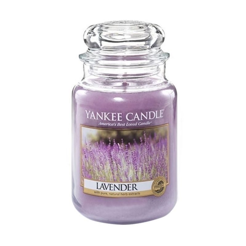 Yankee Candle Jar Large Lavender Lilin Aromaterapi