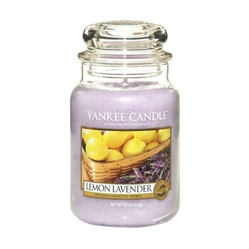 Yankee Candle Jar Large Lemon Lavender Lilin Aromaterapi