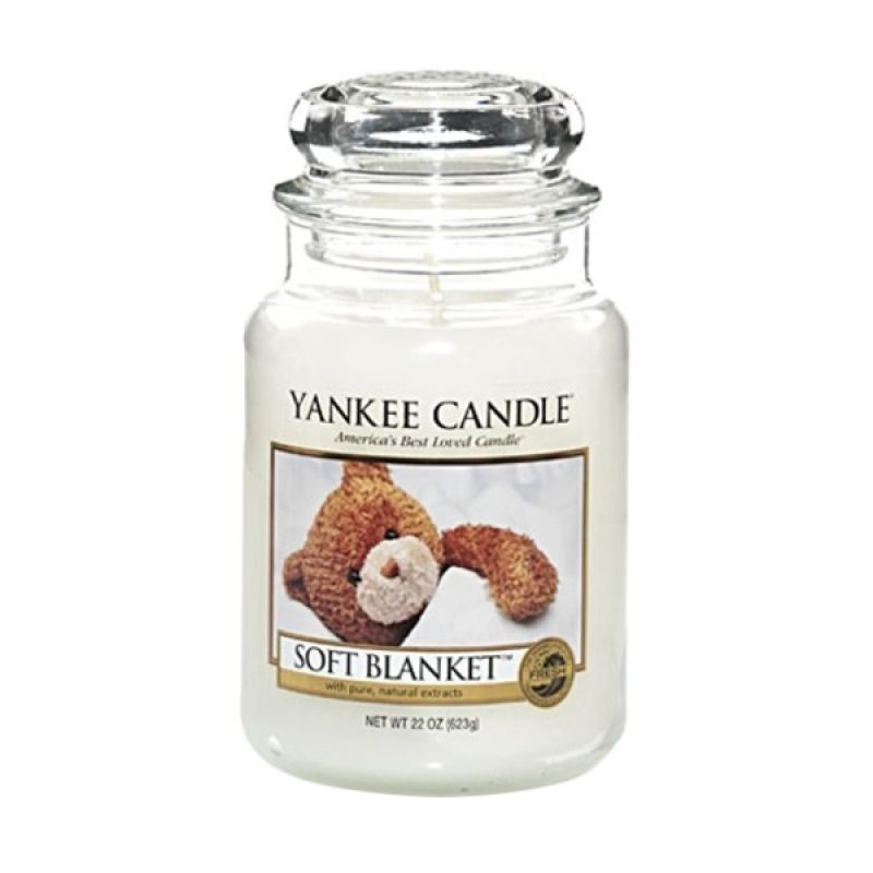 Yankee Candle Jar Large Soft Blanket Lilin Aromaterapi